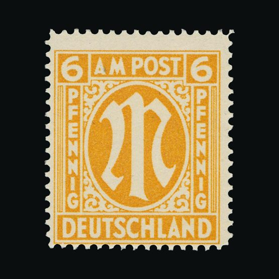Lot 6355 - Germany - Allied Military Post 1945-46 -  Universal Philatelic Auctions Sale #73