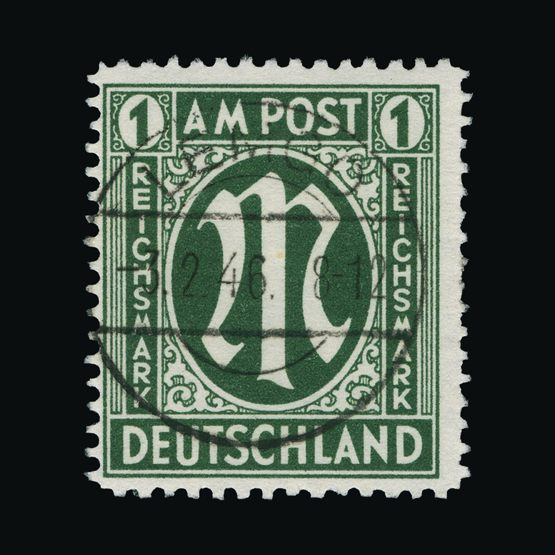 Lot 6356 - Germany - Allied Military Post 1945-46 -  Universal Philatelic Auctions Sale #73