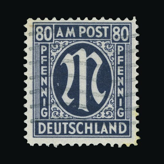 Lot 6362 - Germany - Allied Military Post 1945-46 -  Universal Philatelic Auctions Sale #73