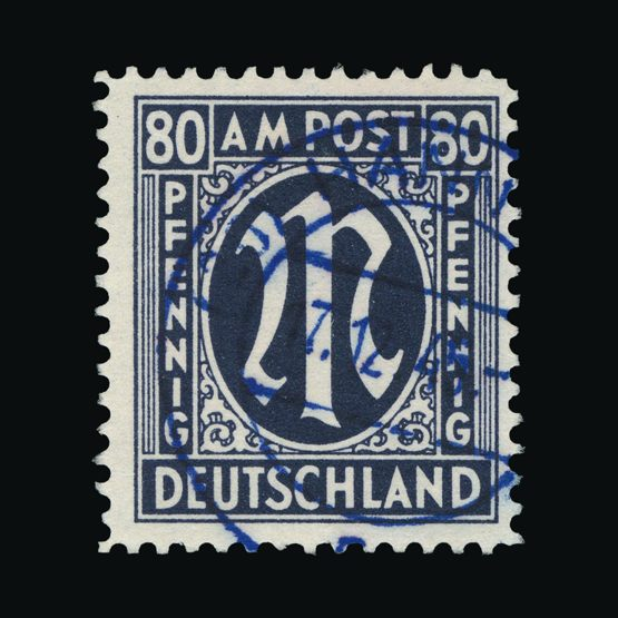 Lot 6363 - Germany - Allied Military Post 1945-46 -  Universal Philatelic Auctions Sale #73