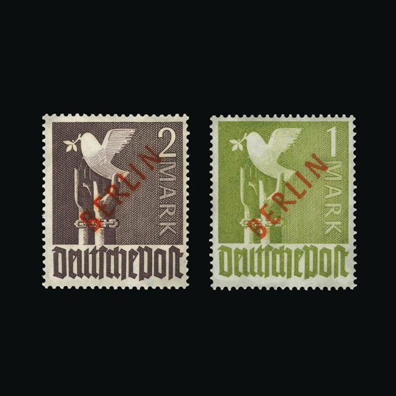 Lot 6431 - germany - west berlin 1949 -  Universal Philatelic Auctions Sale #73