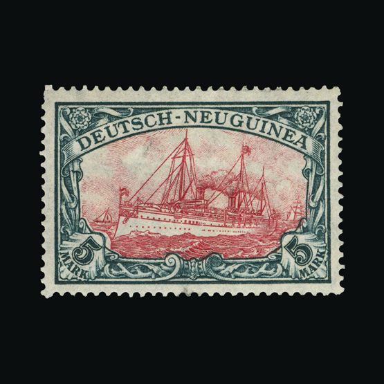 Lot 6456 - Germany - Colonies - New Guinea 1914-19 -  Universal Philatelic Auctions Sale #73