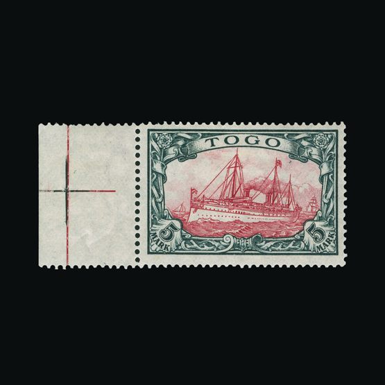 Lot 6464 - Germany - Colonies - Togo 1909-19 -  Universal Philatelic Auctions Sale #73
