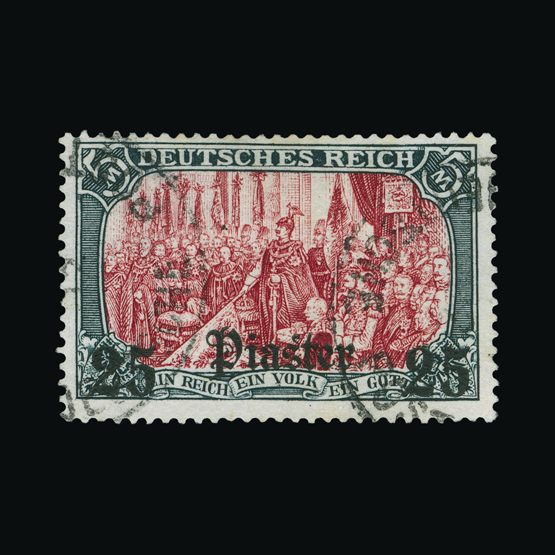 Lot 6478 - Germany - Post Offices in Turkish Empire 1905 -  Universal Philatelic Auctions Sale #73