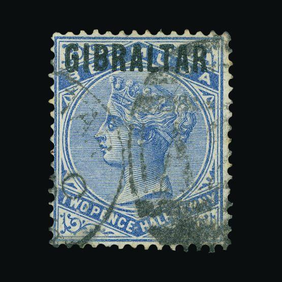 Lot 6520 - Gibraltar 1886 -  Universal Philatelic Auctions Sale #73