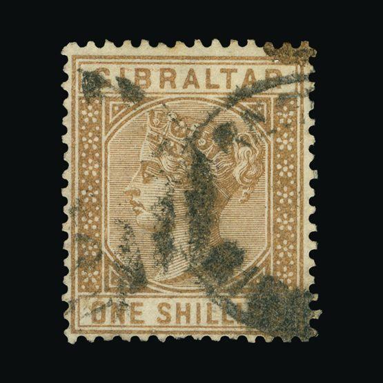 Lot 6530 - Gibraltar 1886-87 -  Universal Philatelic Auctions Sale #73