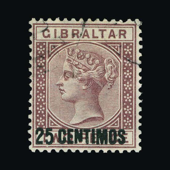 Lot 6543 - Gibraltar 1889 -  Universal Philatelic Auctions Sale #73