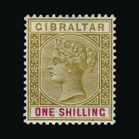 Lot 6586 - Gibraltar 1898 -  Universal Philatelic Auctions Sale #73