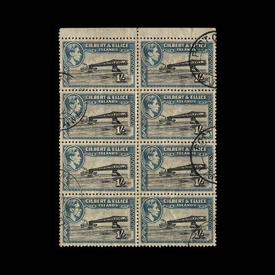 Lot 6820 - gilbert and ellice islands 1939-55 -  Universal Philatelic Auctions Sale #73