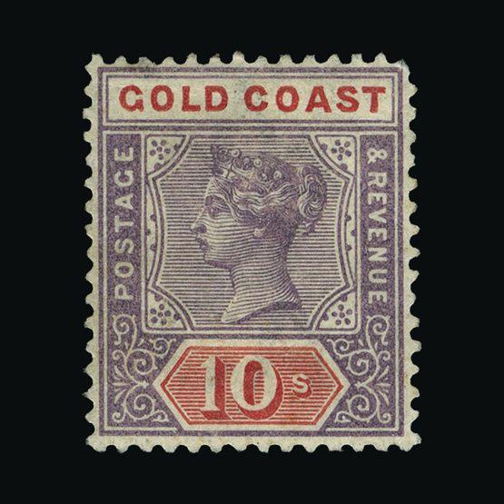 Lot 6858 - gold coast 1889-94 -  Universal Philatelic Auctions Sale #73