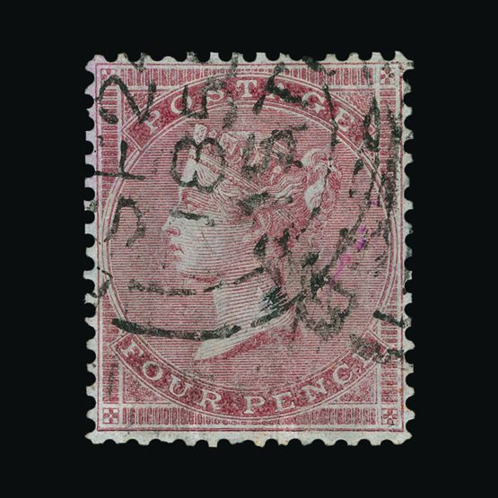 Lot 7547 - Great Britain - QV (surface printed) 1855-57 -  Universal Philatelic Auctions Sale #73