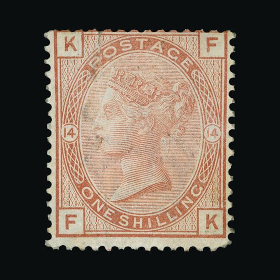Lot 8304 - Great Britain - QV (surface printed) 1880-83 -  Universal Philatelic Auctions Sale #73
