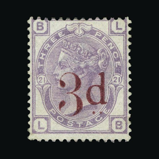 Lot 8324 - Great Britain - QV (surface printed) 1880-83 -  Universal Philatelic Auctions Sale #73