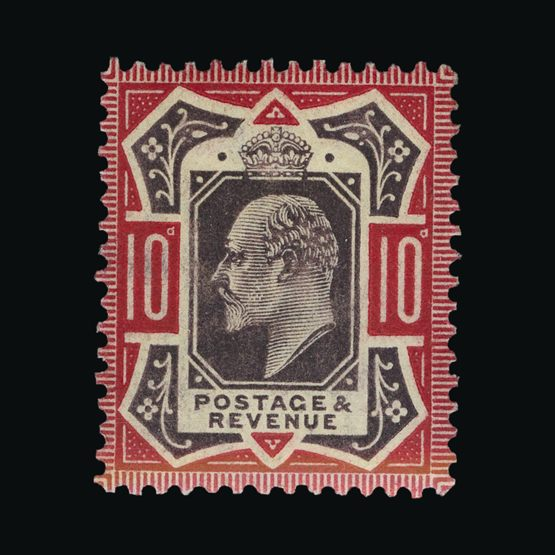 Lot 8607 - Great Britain - KEVII 1902 -  Universal Philatelic Auctions Sale #73