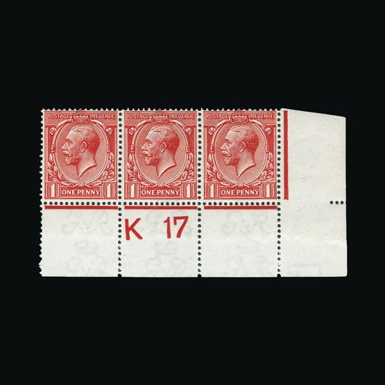 Lot 9415 - Great Britain - KGV 1912-24 -  Universal Philatelic Auctions Sale #73