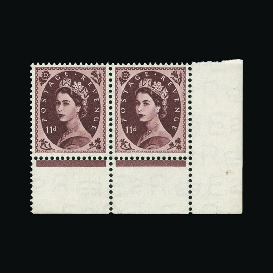 Lot 9833 - Great Britain - KGV 1952-54 -  Universal Philatelic Auctions Sale #73