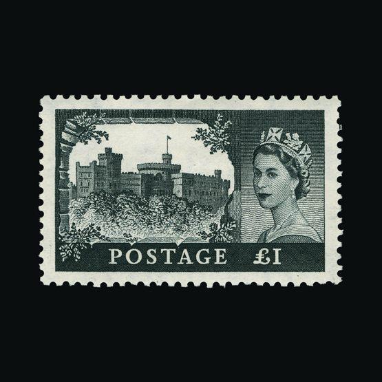 Lot 10229 - Great Britain - QEII (pre-decimal) 1955 -  Universal Philatelic Auctions Sale #74