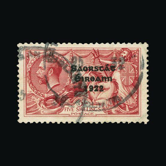 Lot 12871 - ireland 1922-23 -  Universal Philatelic Auctions Sale #74