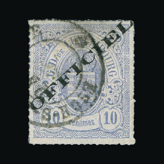 Lot 14004 - Luxembourg 1875-80 -  Universal Philatelic Auctions Sale #74