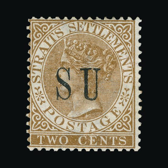 Lot 14756 - Malaya - Sungei Ujong 1882 -  Universal Philatelic Auctions Sale #74