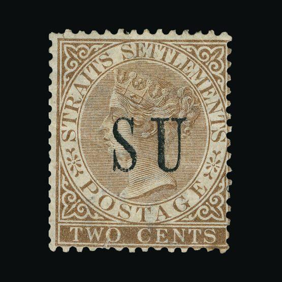 Lot 14757 - Malaya - Sungei Ujong 1882 -  Universal Philatelic Auctions Sale #74