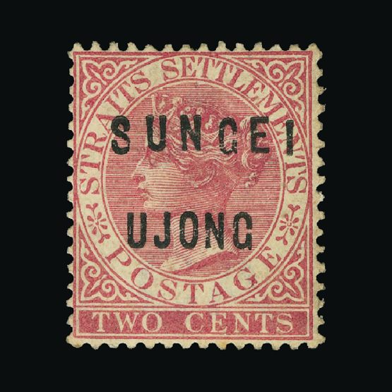 Lot 14758 - Malaya - Sungei Ujong 1882-84 -  Universal Philatelic Auctions Sale #74