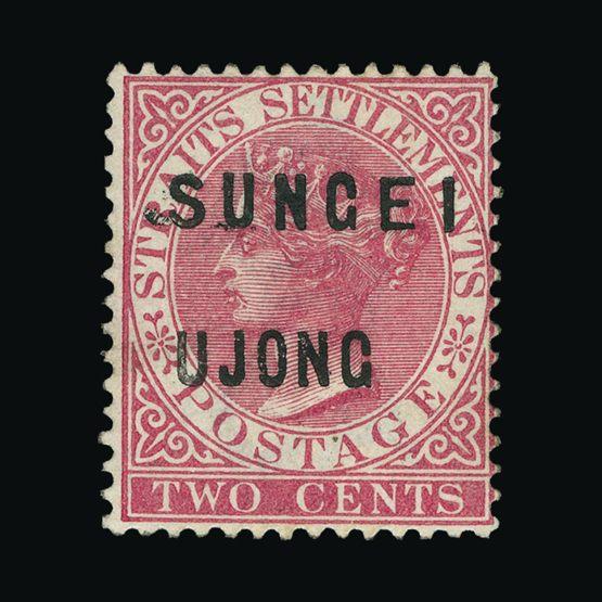 Lot 14763 - Malaya - Sungei Ujong 1883-84 -  Universal Philatelic Auctions Sale #74