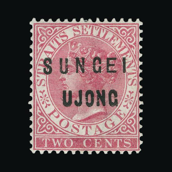 Lot 14765 - Malaya - Sungei Ujong 1883-84 -  Universal Philatelic Auctions Sale #74