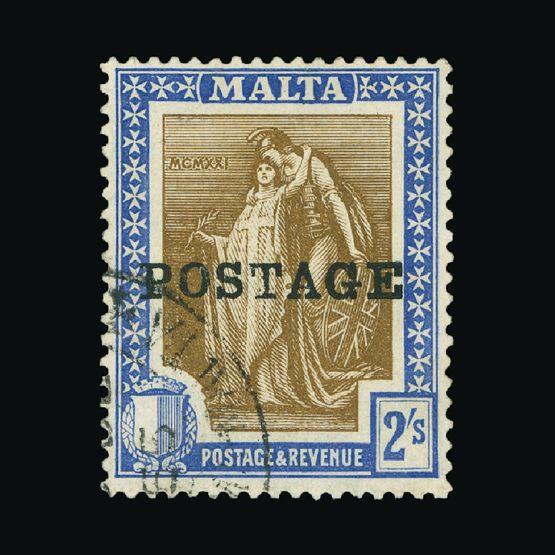 Lot 14954 - Malta 1925-26 -  Universal Philatelic Auctions Sale #74