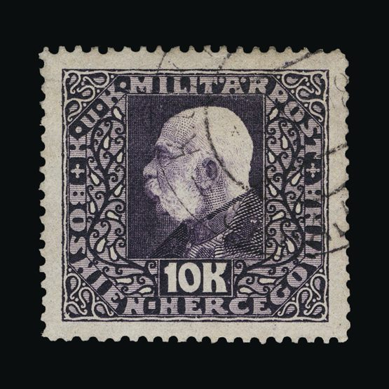Lot 2397 - bosnia and herzegovina 1916 (1-30 Oct) -  Universal Philatelic Auctions Sale #74