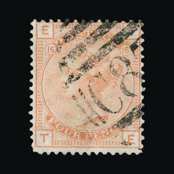 Lot 4691 - dominican republic 1876 -  Universal Philatelic Auctions Sale #74