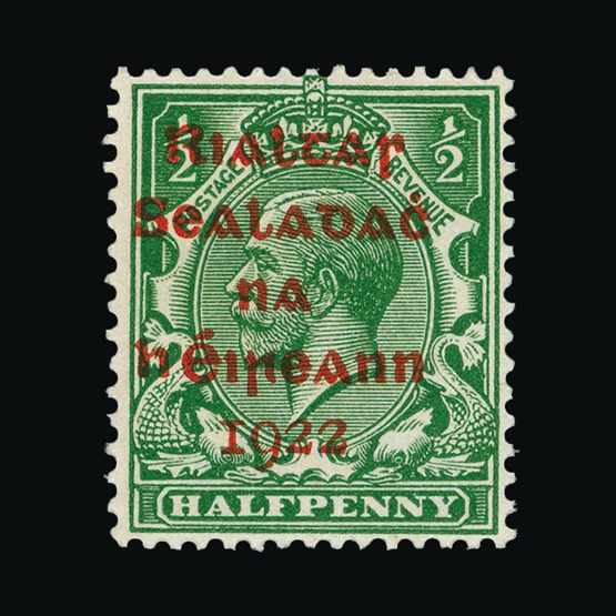 Lot 12458 - ireland 1922 -  Universal Philatelic Auctions Sale #75 | Unsold lots at reserve prices (80% of estimate)