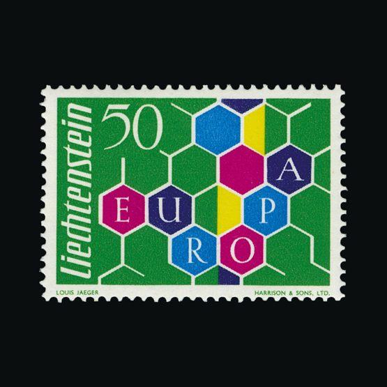 Lot 13619 - Liechtenstein 1960 -  Universal Philatelic Auctions Sale #75