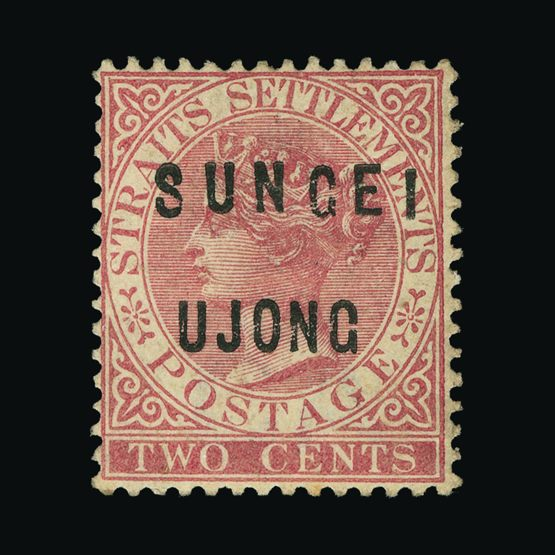 Lot 14364 - Malaya - Sungei Ujong 1882-84 -  Universal Philatelic Auctions Sale #75