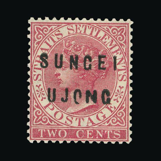 Lot 14365 - Malaya - Sungei Ujong 1882-84 -  Universal Philatelic Auctions Sale #75