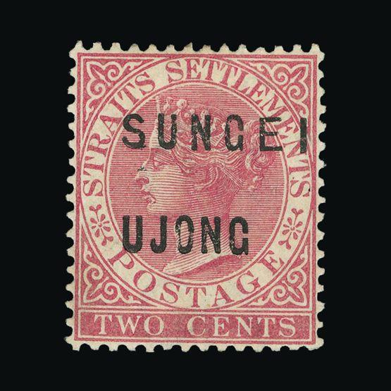 Lot 14367 - Malaya - Sungei Ujong 1883-84 -  Universal Philatelic Auctions Sale #75