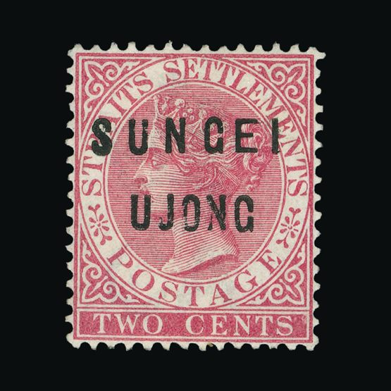 Lot 14368 - Malaya - Sungei Ujong 1883-84 -  Universal Philatelic Auctions Sale #75