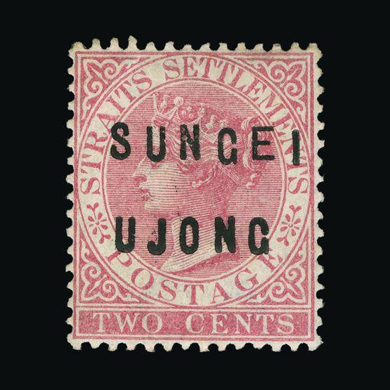 Lot 14370 - Malaya - Sungei Ujong 1883-84 -  Universal Philatelic Auctions Sale #75