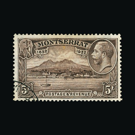 Lot 14883 - montserrat 1932 -  Universal Philatelic Auctions Sale #75