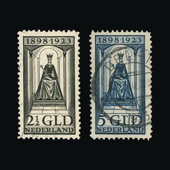 Lot 15136 - Netherlands 1923 -  Universal Philatelic Auctions Sale #75