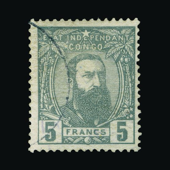 Lot 1754 - Belgium - Belgian Congo 1887-94 -  Universal Philatelic Auctions Sale #75