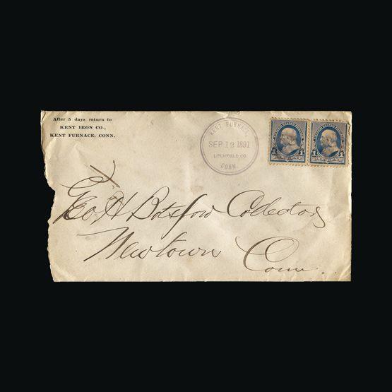 Lot 19793 - United States of America 1891 -  Universal Philatelic Auctions Sale #75