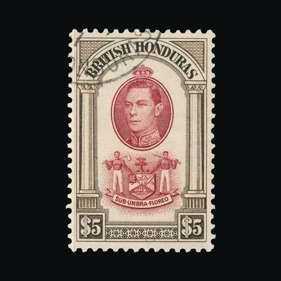 Lot 2218 - british honduras 1938-47 -  Universal Philatelic Auctions Sale #75