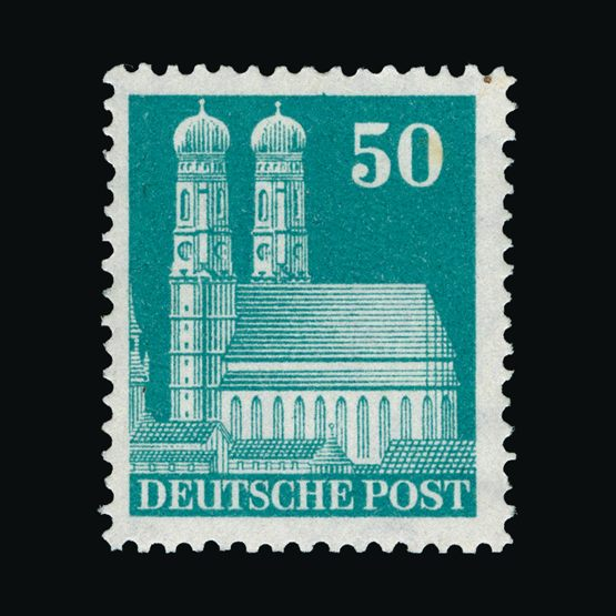 Lot 5483 - Germany - Allied Occupation - British and American Zones 1948-50 -  Universal Philatelic Auctions Sale #75