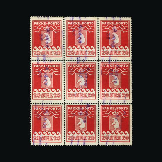 Lot 10344 - Greenland 1927 -  Universal Philatelic Auctions Sale #76 worldwide Collections