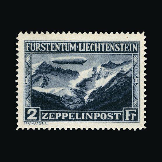Lot 13122 - Liechtenstein 1931 -  Universal Philatelic Auctions Sale #76 worldwide Collections