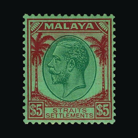 Lot 13970 - malaya - straits settlements 1935 -  Universal Philatelic Auctions Sale #76 worldwide Collections