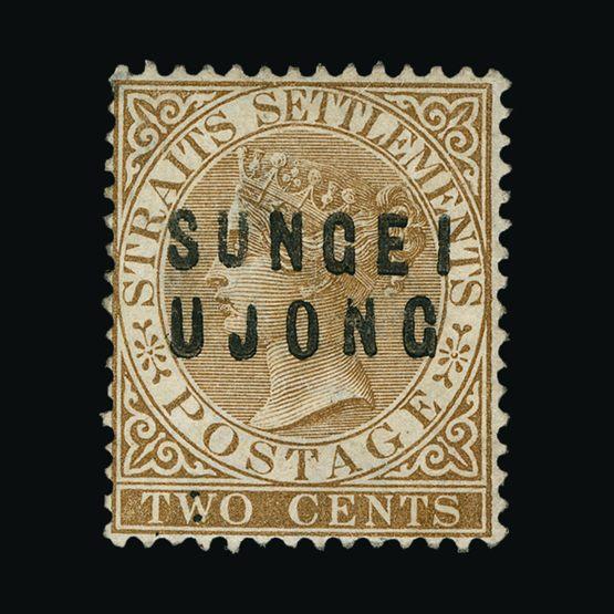 Lot 13985 - Malaya - Sungei Ujong 1881 -  Universal Philatelic Auctions Sale #76 worldwide Collections