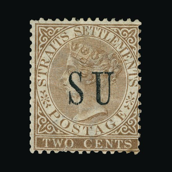 Lot 13986 - Malaya - Sungei Ujong 1882 -  Universal Philatelic Auctions Sale #76 worldwide Collections