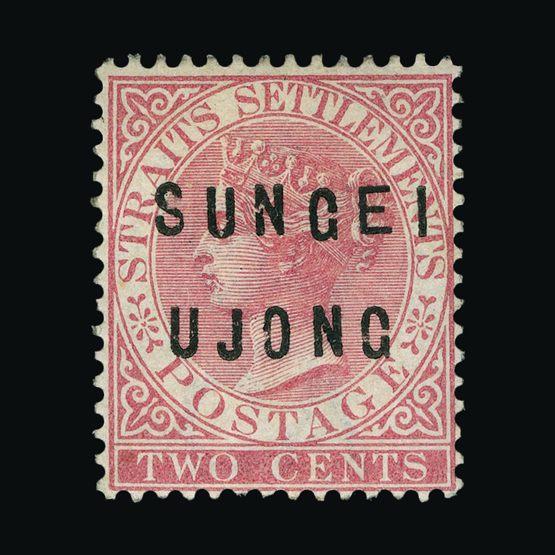 Lot 13988 - Malaya - Sungei Ujong 1882-84 -  Universal Philatelic Auctions Sale #76 worldwide Collections